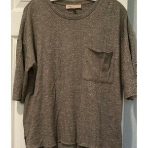 Philosophy Raw Hem Lightweight Oversize Sweater